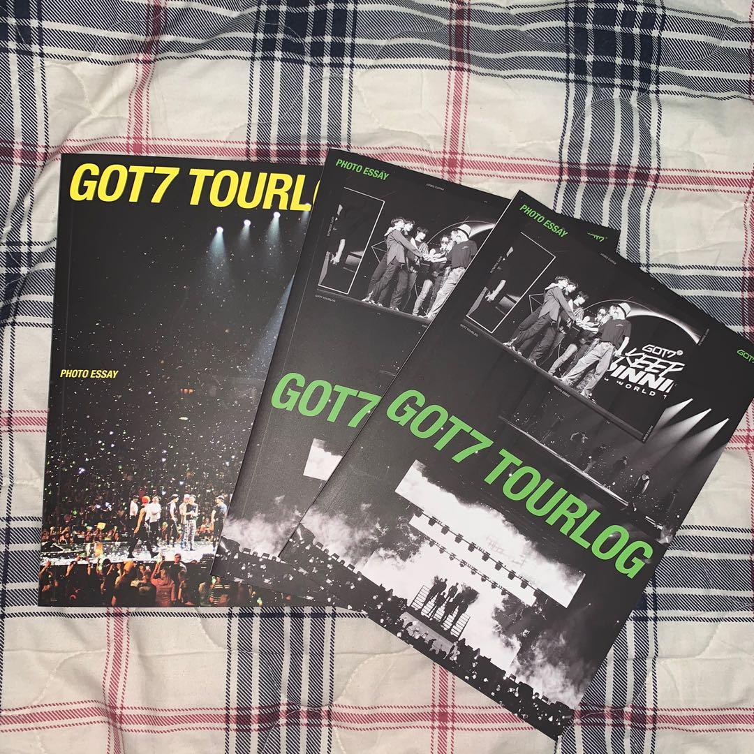 WTS GOT7 pc/bookmark/mirror card/tourlog/lyrics card/postcard/album