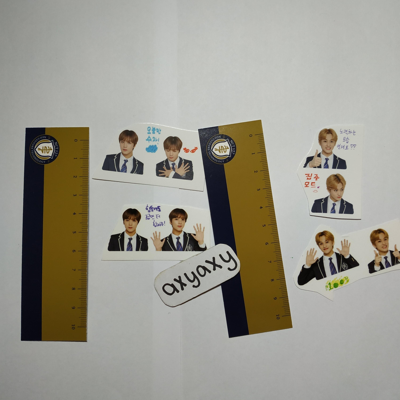[WTS] NCT 127 Back to School Kit: Member Set mark haechan