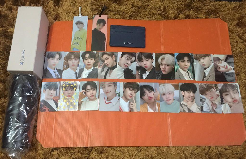[WTS] X1 One It official Membership Kit Loose & Album Bookmarks
