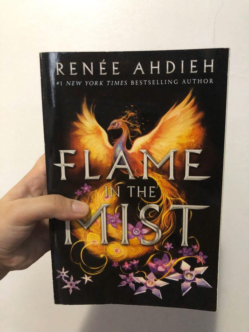 YA books for sale (A Tale for the Time Being by Ruth Ozeki and Flame in the Mist by Renee Ahdieh)