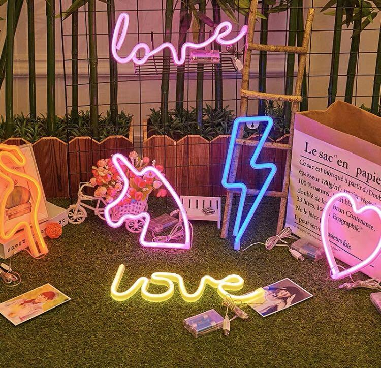 1070 Tumblr Basic Ulzzang Led Light Neon Words Wall Decoration Women S Fashion Accessories Others On Carousell