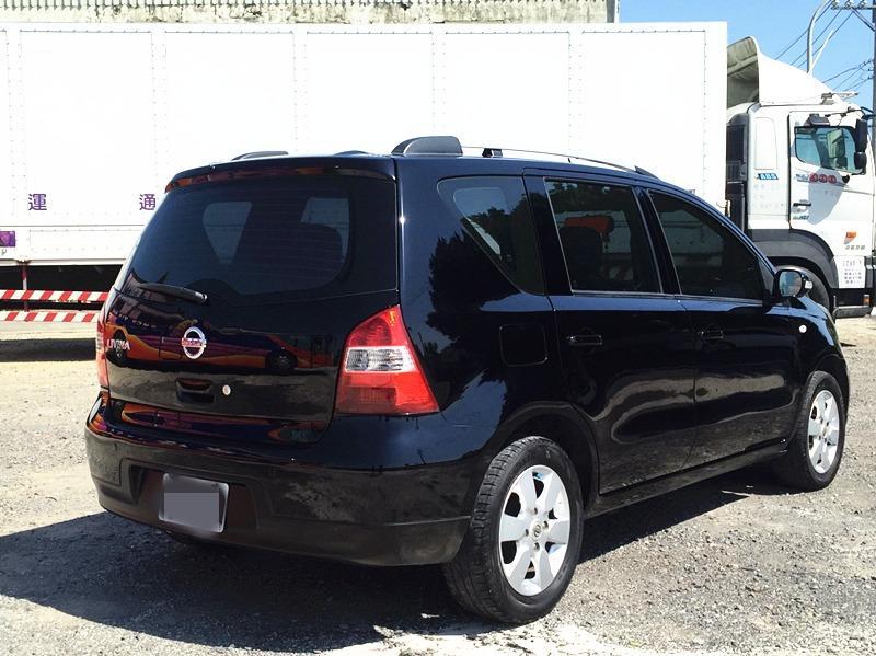 2010 Nissan Livina 1.8 黑 配合全額貸、找 錢超額貸 FB搜尋 : 『阿文の圓夢車坊』