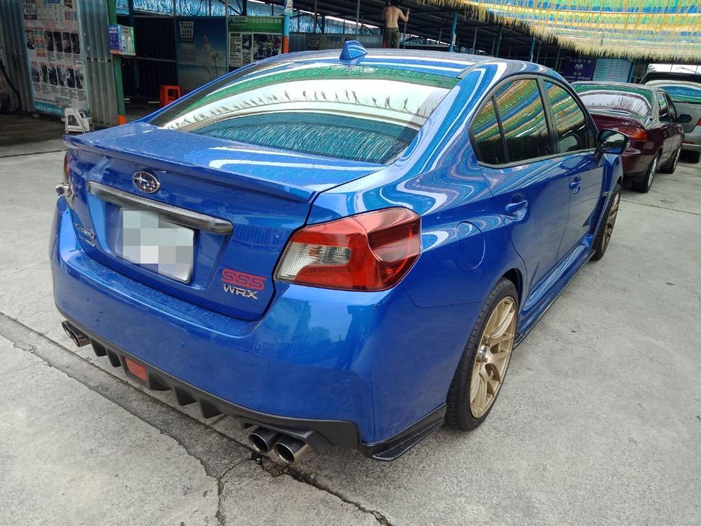 2014年 WRX CVT 藍2.0 跑6.6萬 熱門車中古車二手車