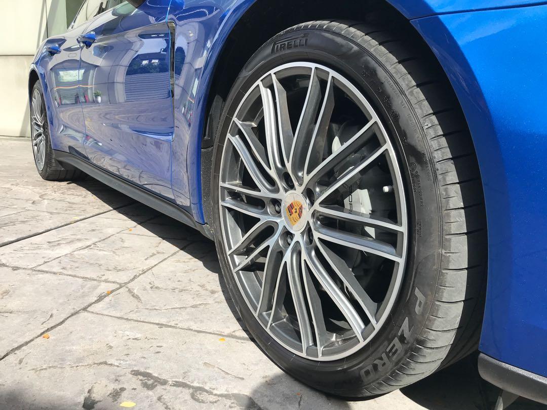 2017 Porsche Panamera 4S 2.9 PDK Gentian Blue Exterior Paint (Rare Colour Paint)