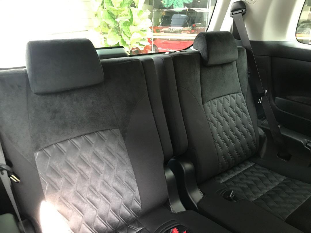 2018 Toyota Vellfire 2.5 Z 8 Seater New Facelift Dark Red (Rare Exterior Paint)