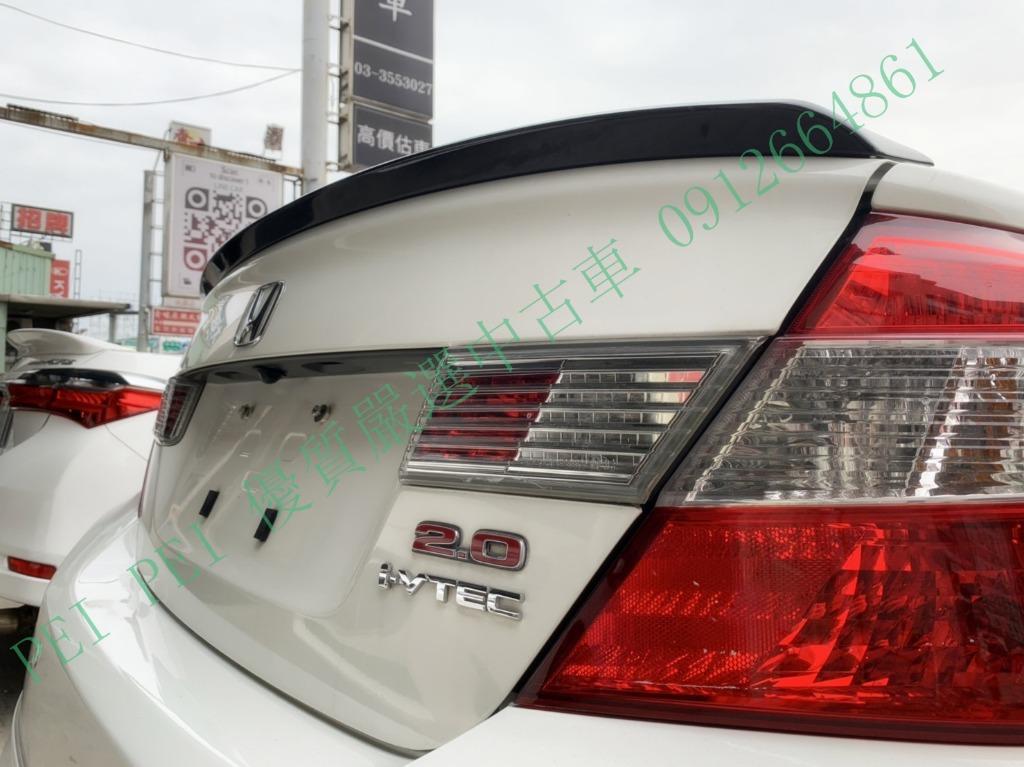 本田 2012 白色 K14 頂 跑15萬