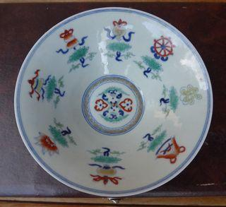 Antique Chinese Enamel Porcelain Bowl