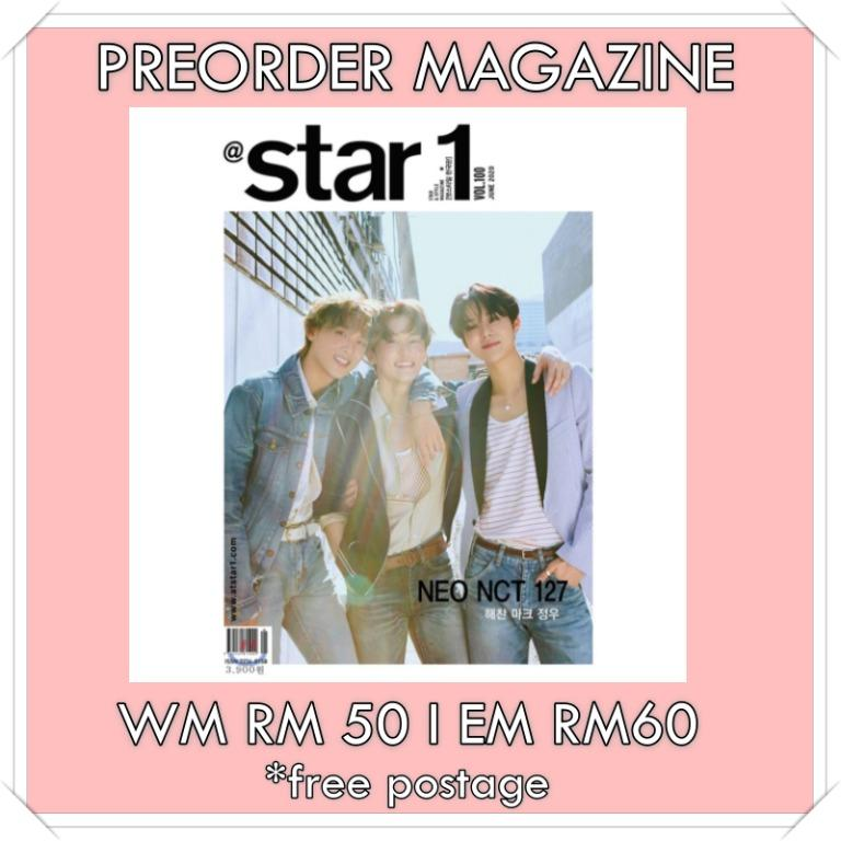 At star1 Magazine 2020.06 (Front Cover : NCT 127 Mark & Hae Chan & Jung Woo)