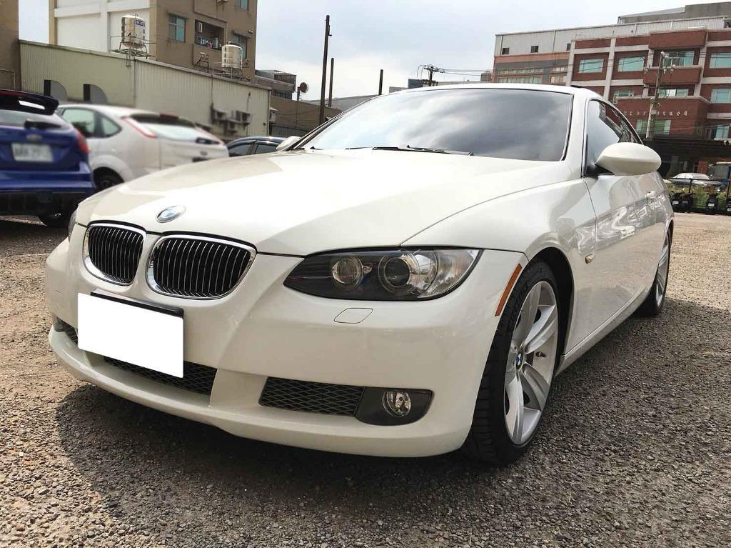 BMW 2008 白色 335Ci 美規 跑11萬