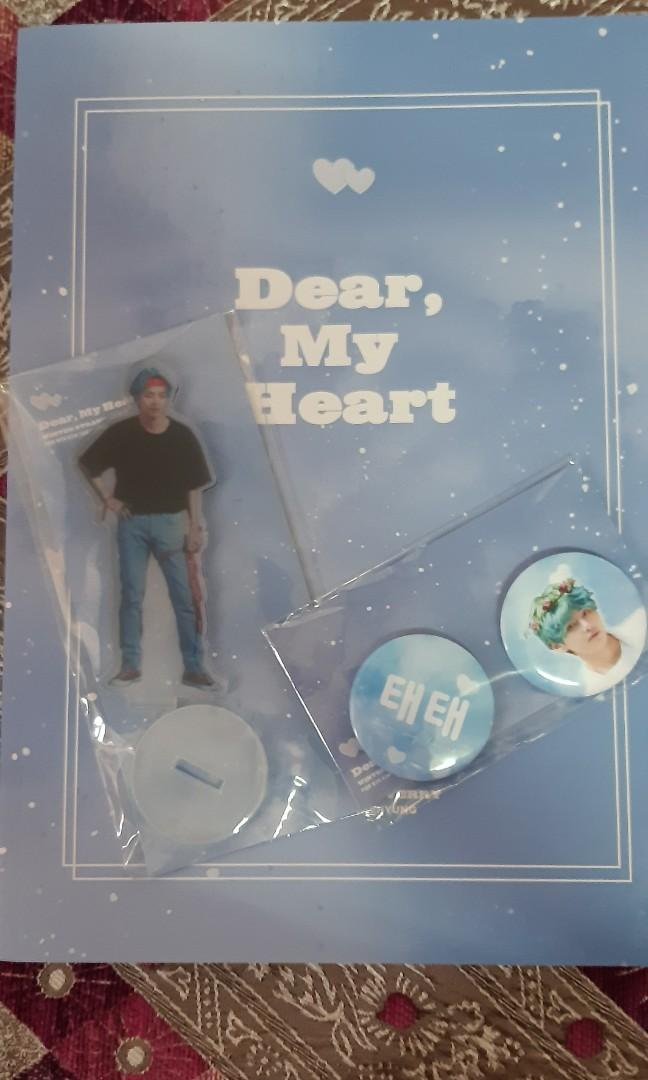 BTS V - DEAR, MY HEART PHOTOBOOK BY WINTERSTRAWVERRY