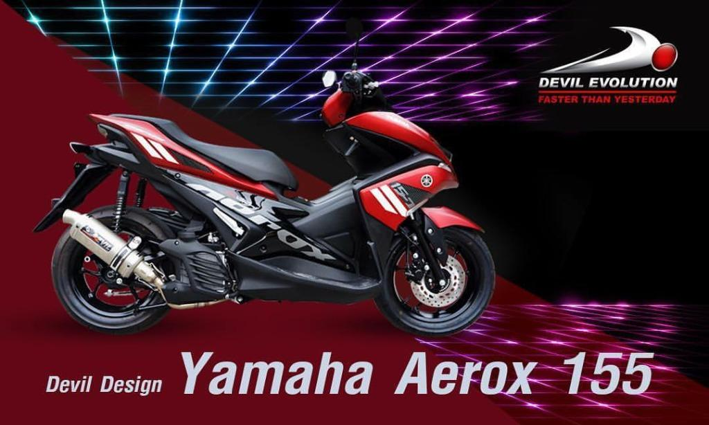 brillo Consentimiento Credencial  Devil Exhaust Systems Singapore Yamaha Aerox 155 Ready Stock ! Promo ! Do  Not PM ! Kindly Call Us ! Kindly Follow Us !, Motorcycles, Motorcycle  Accessories on Carousell
