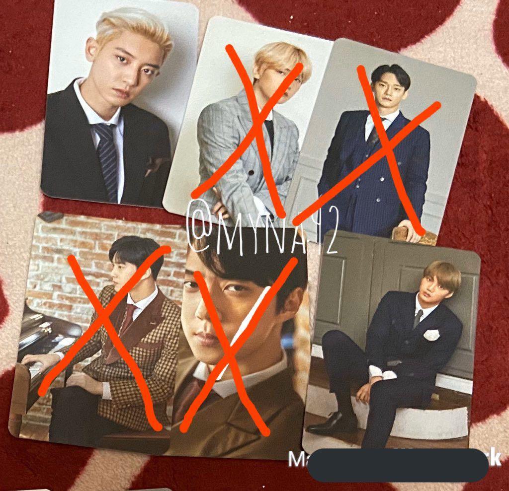 EXO Preorder Benefit Ktown4U Season Greeting Photocard