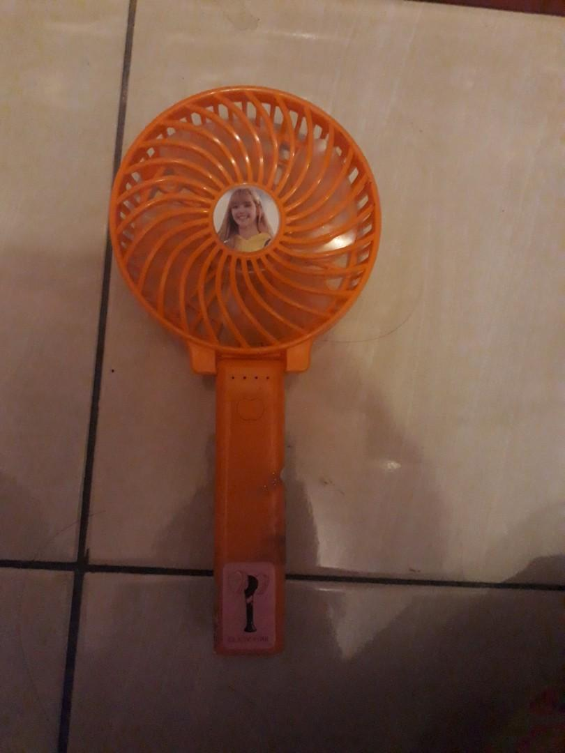 Hand fan DIY with sticker  blackpink free unoff photocard blackpink dpt 2 *random*
