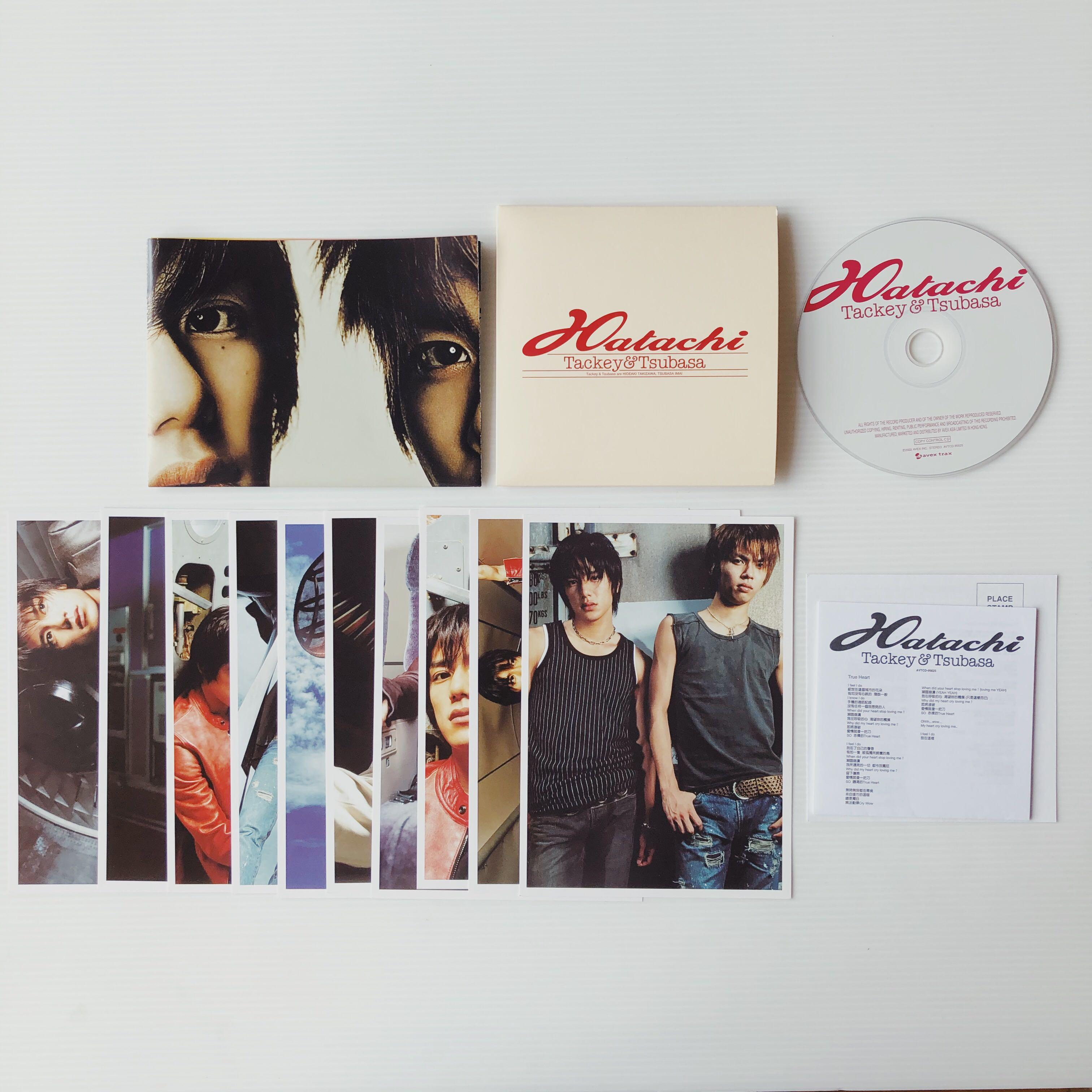 Hatachi Tackey & Tsubasa Debut Album CD Limited Edition