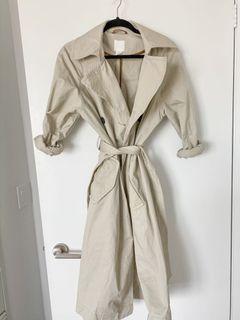 HM trench coat beige