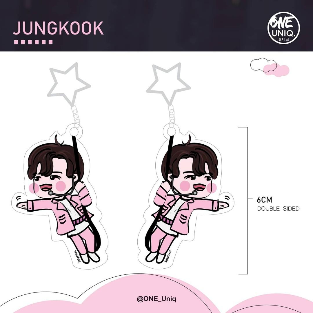 Jungkook Acrylic Keychain - Euphoria [See You in the Sky Version]