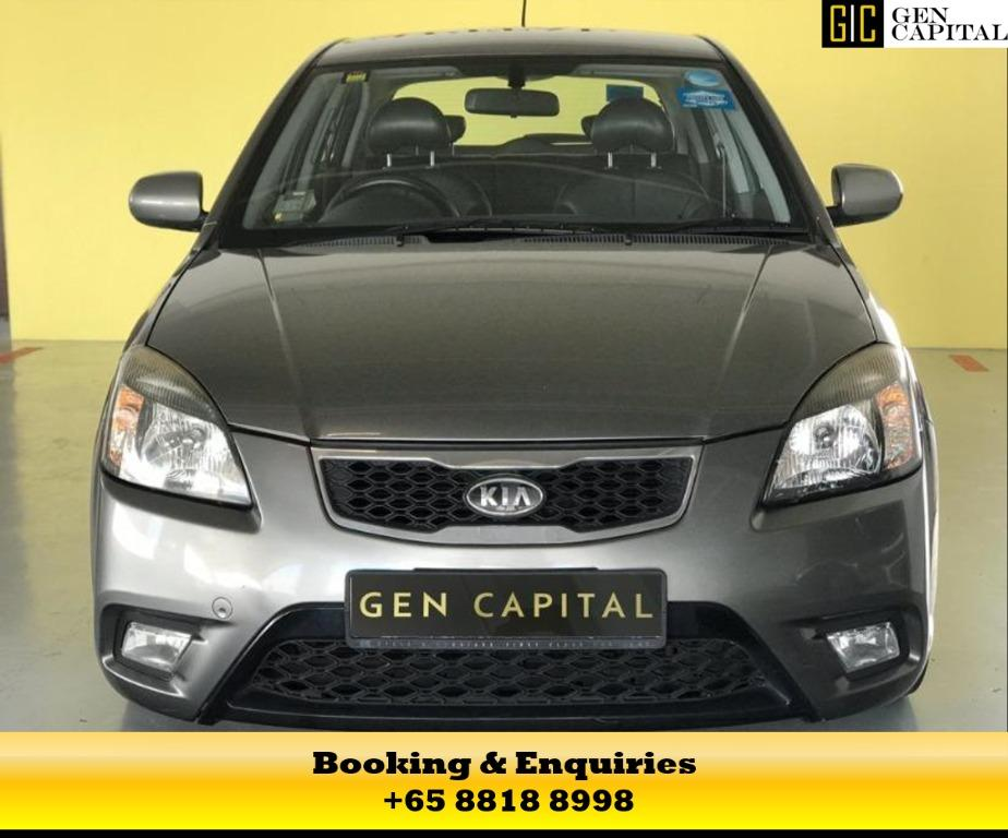 KIA RIO - 50% OFF DURING CB PERIOD! Travel with a peace of mind with just $500 deposit driveaway, whatsapp me now at 8818 8998!
