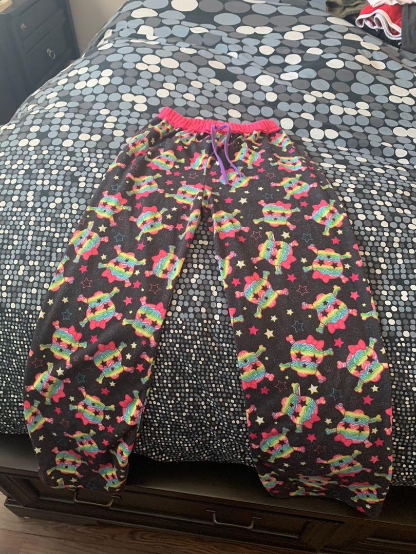 Kids skull pajama pants