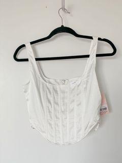 Missguided corset croptop