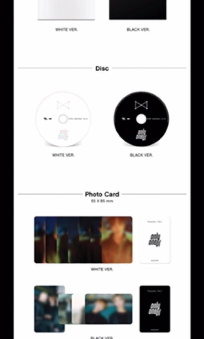 [MY GO] Preorder OnlyOneOf : Produce By [  ] Part 1