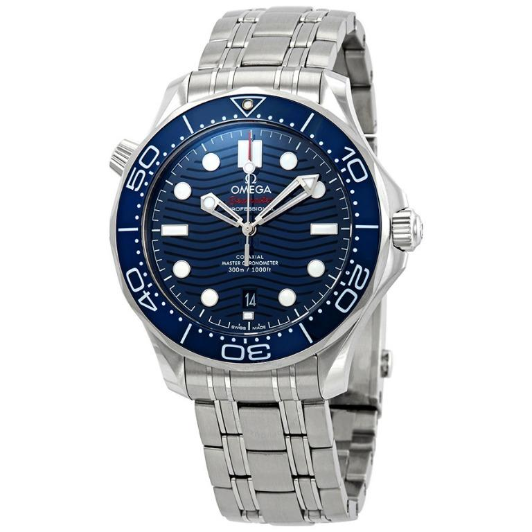 Omega Seamaster Automatic Blue Dial Watch 210.30.42.20.03.001