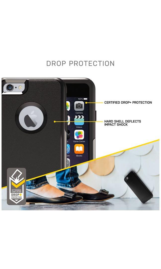 OtterBox COMMUTER SERIES iPhone 6/6s case