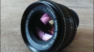 PENTAX SMC Takumar 55mm f/1 .8 M42 Lens