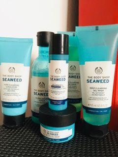 Seaweed Products Range