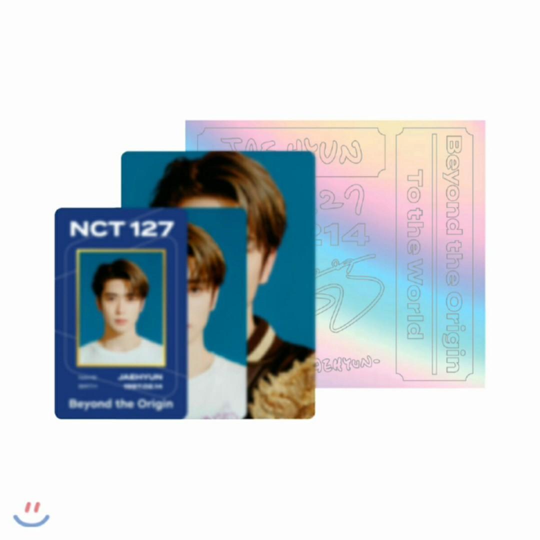 (SHARE) NCT 127 Jaehyun ID Card + Deco Sticker Set