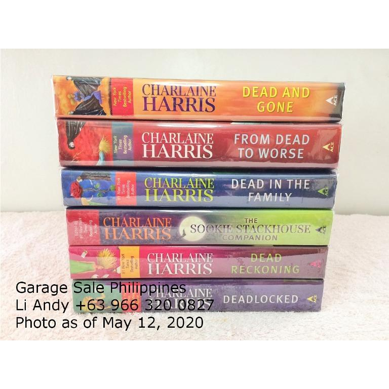 Sookie Stackhouse by Charlaine Harris, Southern Vampire Mysteries, True Blood Novels