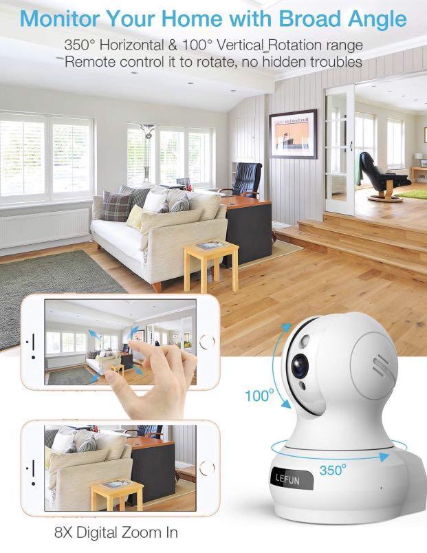 Wireless Ip Camera Lefun Electronics Others On Carousell