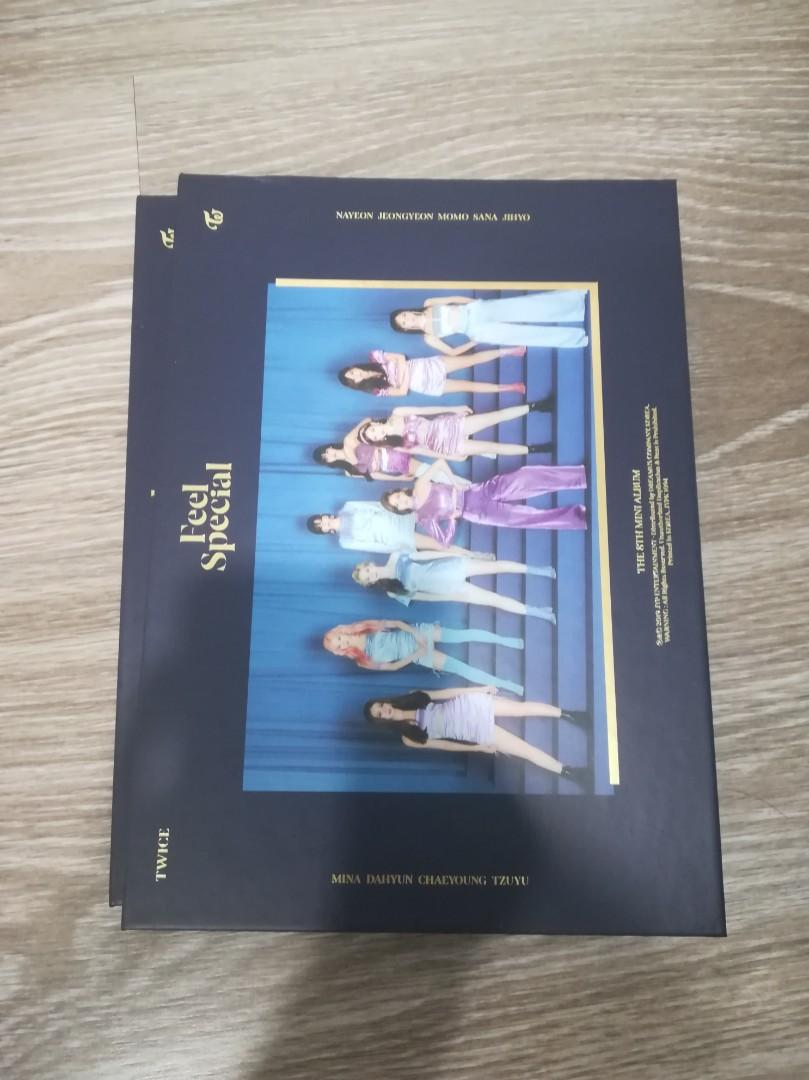WTS TWICE FEEL SPECIAL ALBUM, LYRICS BOOK, POSTER