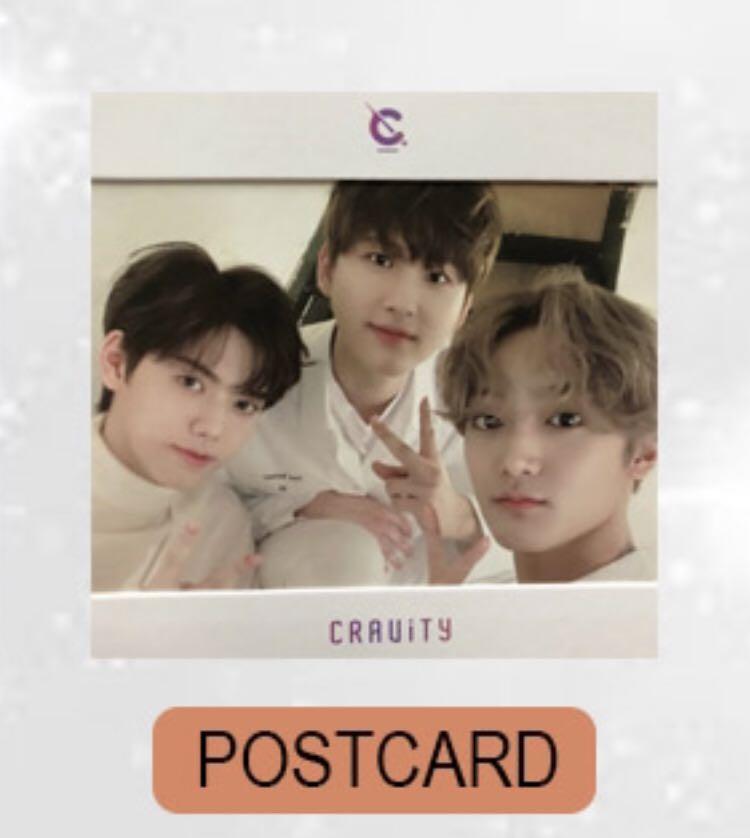 [WTT] Cravity WonjinJungmoSerim Postcard to MinheeWoobinTaeyoung Postcard