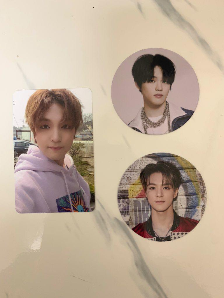 WTT Looking for trade NCT Dream Reload photocard pc circle card cc folded poster