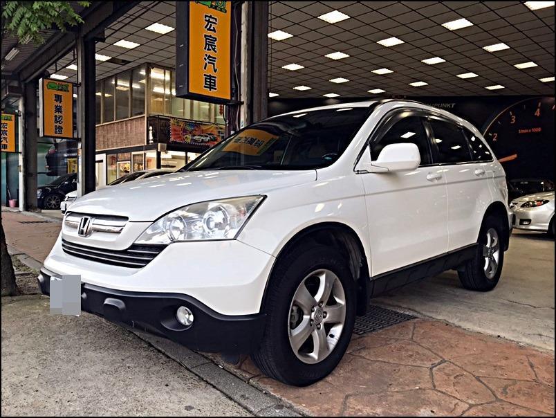 2007年 CR-V 免頭款全額貸.