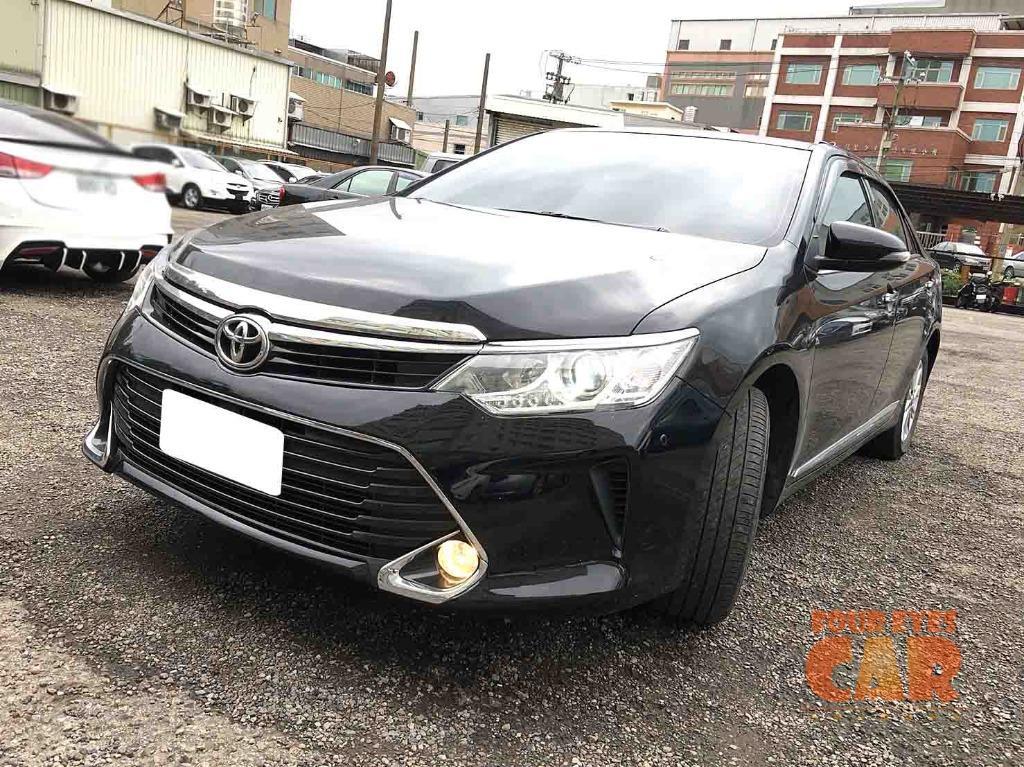 2016年 豐田 CAMRY 2.0 黑 黑內裝72