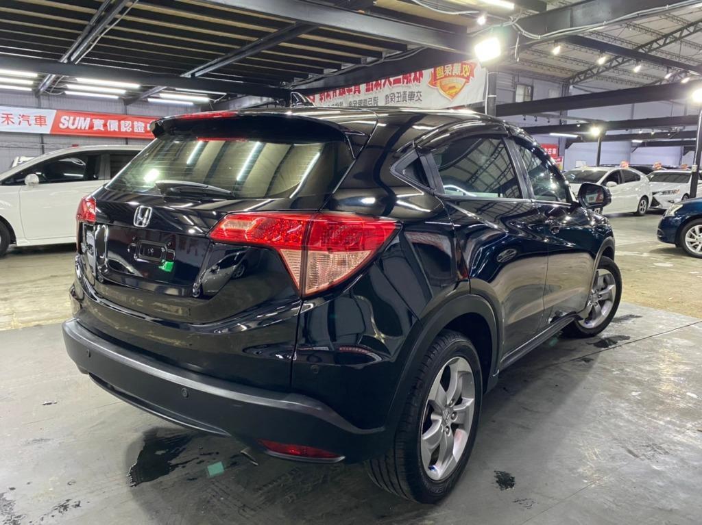正2019年 小改款Honda HRV VTi-s 免鑰匙旗艦款.曜石黑