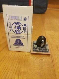 日本大涌谷黑蛋小擺飾