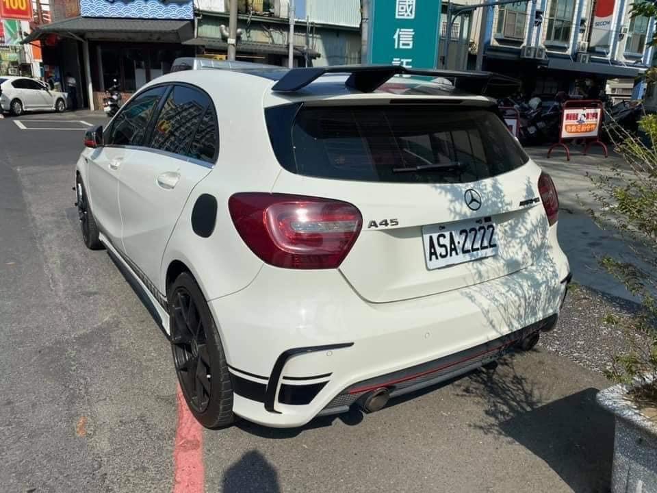 鐵支黑桃牌....懂的打懂‼️ 2013 Benz  A180  全車升級A45式樣 鋁圈 安卓機‼️ 質感稅金油耗雙省進口小車👍 關心您的車 電話:0905813710