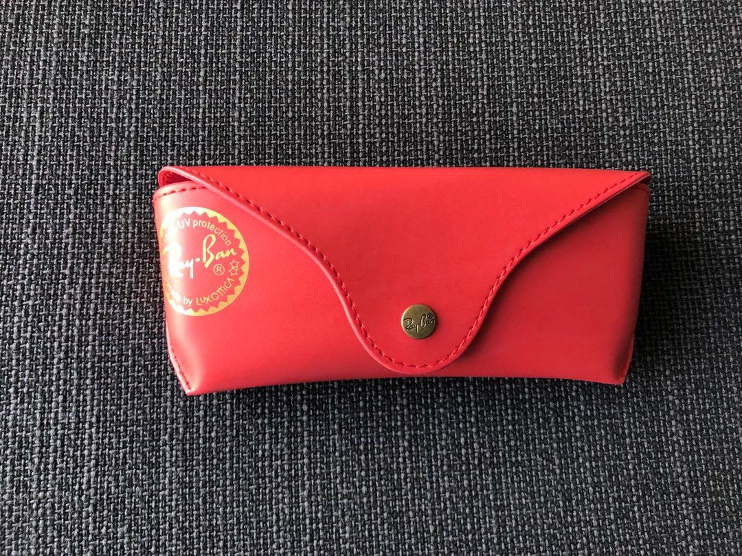 Authentic Rayban box, casing with wipe lens  cloth  (RM50 including postage)