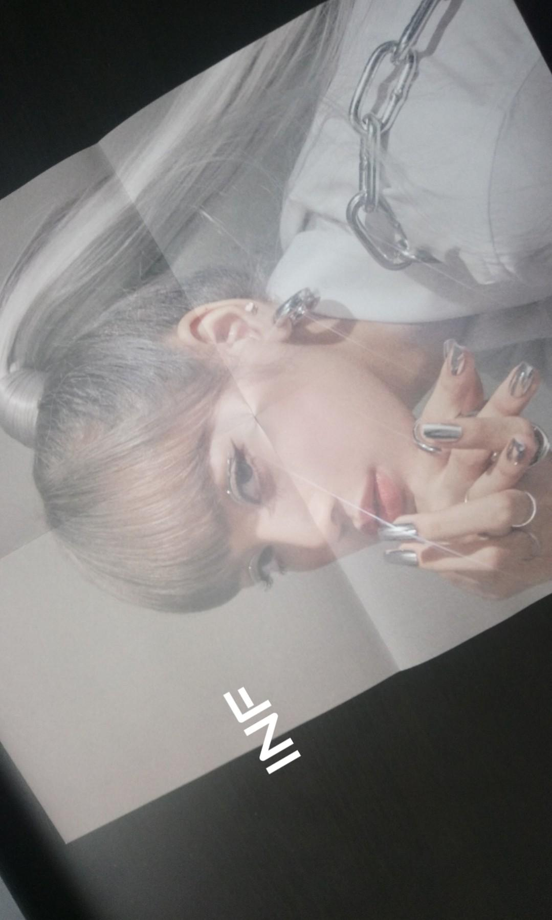 BLACKPINK KILL THIS LOVE LISA OFFICIAL FOLDED POSTER