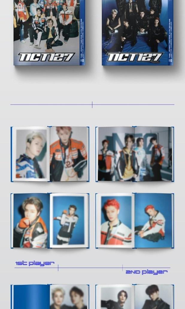 NCT 127 2ND REGULAR REPACKAGE ALBUM NCT #127 NEO ZONE : THE FINAL ROUND