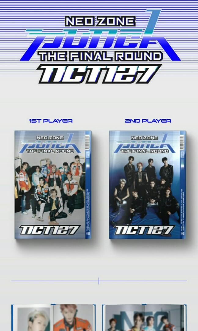 (Choose ver) NCT 127 NEO ZONE: THE FINAL ROUND (REPACKAGE) PRE ORDER) NCT nct