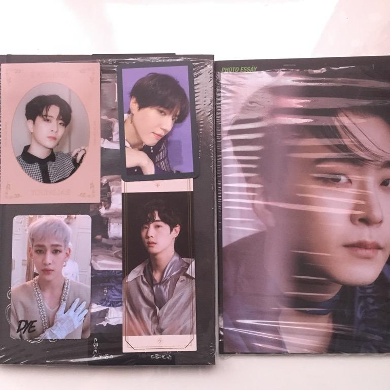 GOT7 DYE VER.A YUGBAM +MARKJAE SET WITH POSTER AND PRE ORDER BENEFIT