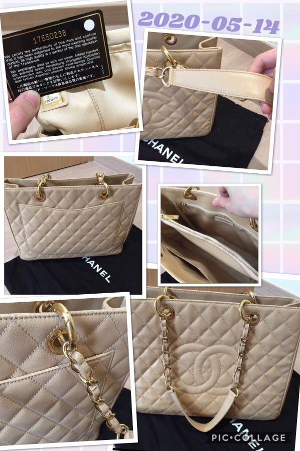 Im selling Preloved Chanel GST in beige with gold hardware. Refer to photos 😀 (got it as a gift bought in Italy)
