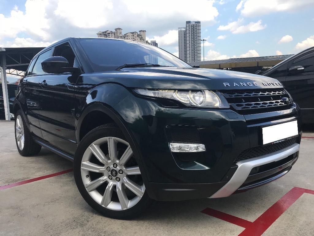 Land Rover Range Rover Evoque HSE Dynamic (A)