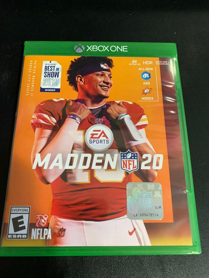 Madden 20 (Xbox One Game)