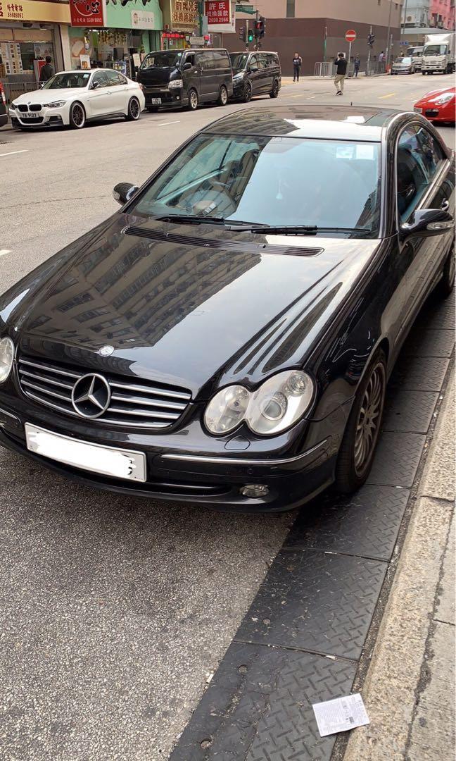 Mercedes-Benz CLK240 Cabriolet (A)