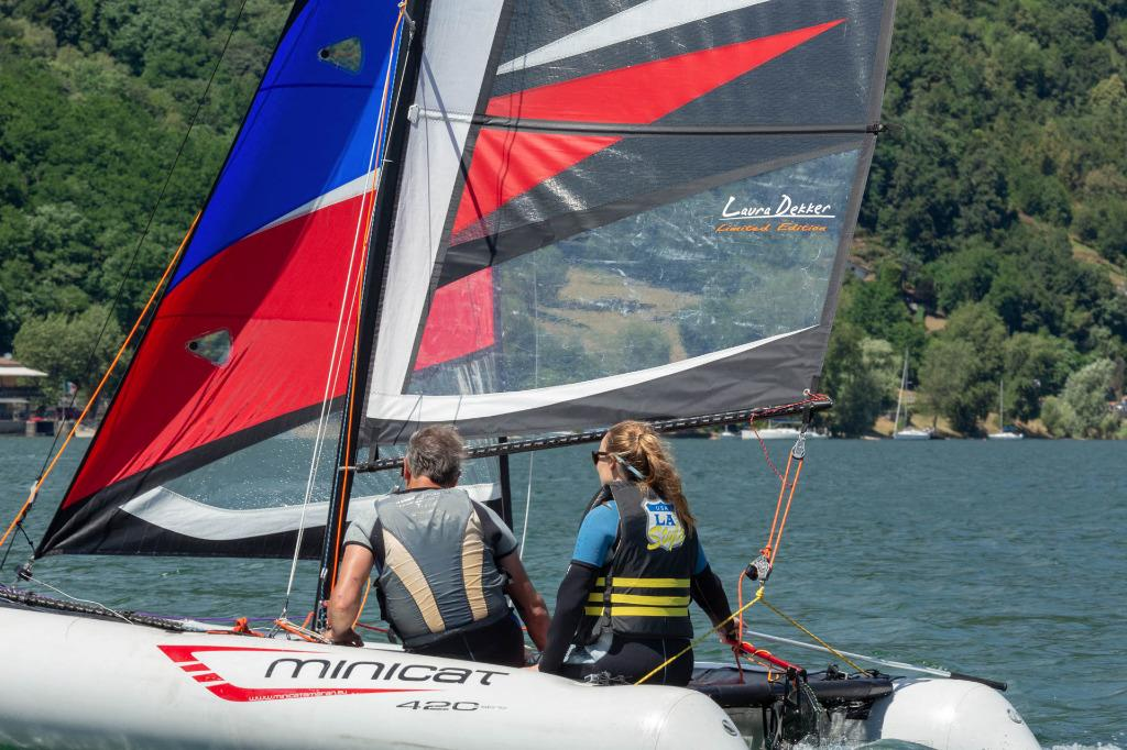 Minicat inflatable sailboat 充氣雙體帆船- SALE
