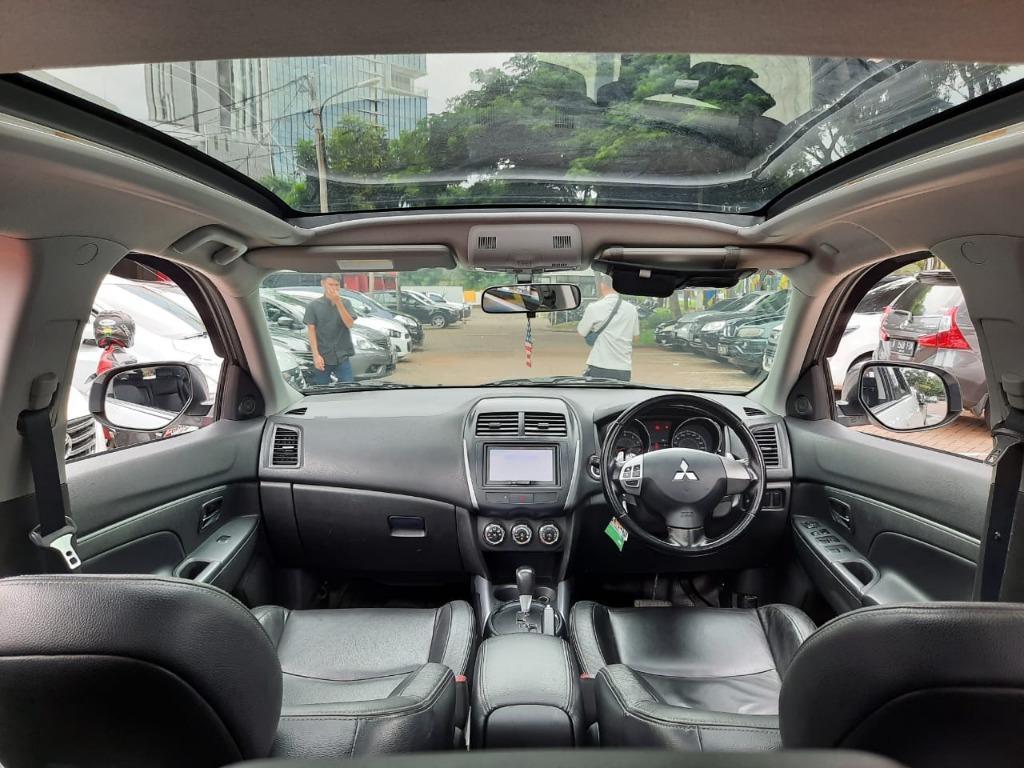Mitsubishi Outlander PX 2.0 AT 2013 Putih, Dp 29,9 Jt, Panoramic,No Pol Ganjil